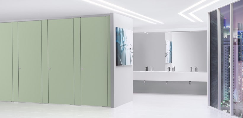 Sylan Commercial Washroom Cubicles in HPL